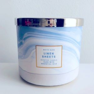 BBW Linen Sheets Candle
